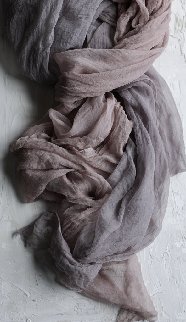 Fig {Sheer Silk Runner}