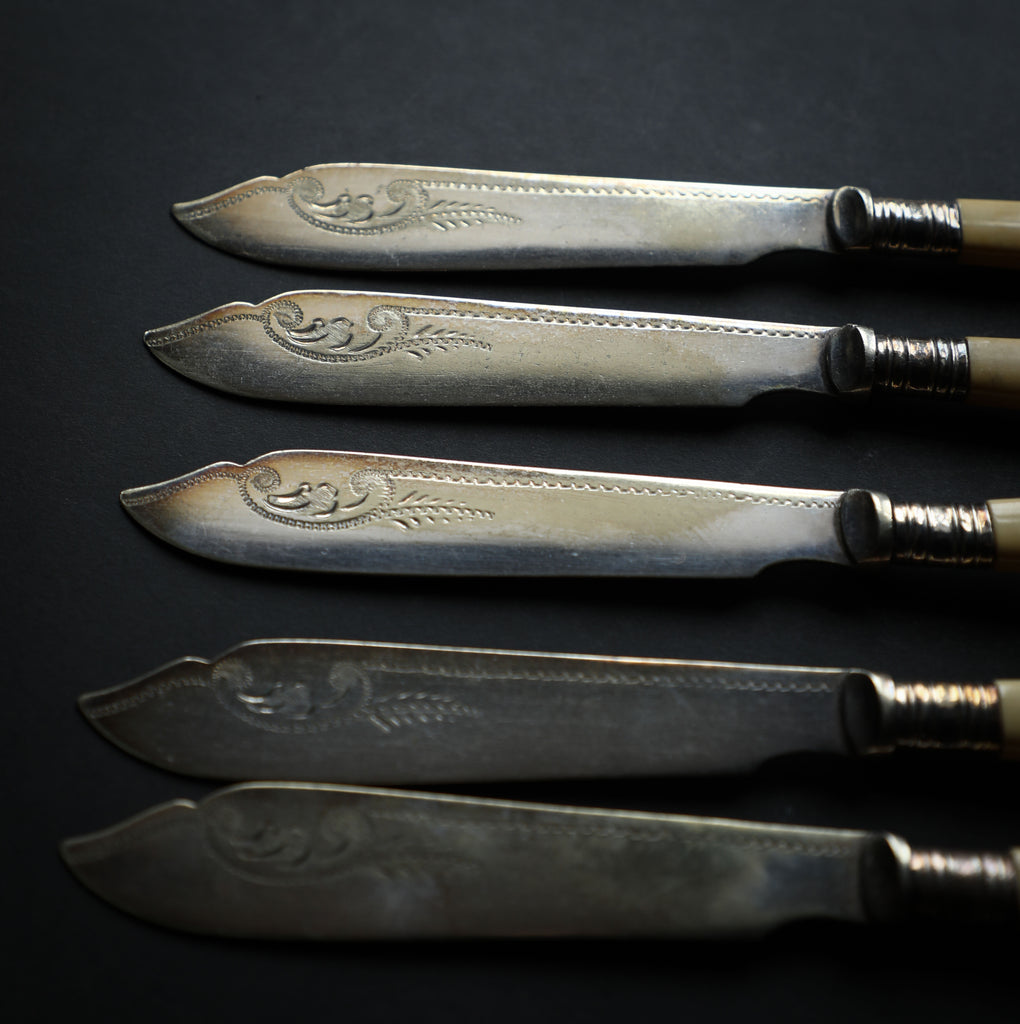 Victorian Fish Knife & Fork Set