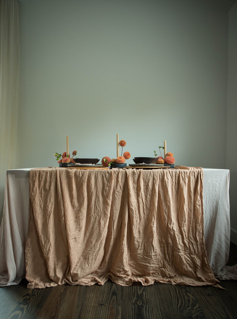 Harvest {Tight Weave Extra-Wide Table Cover}