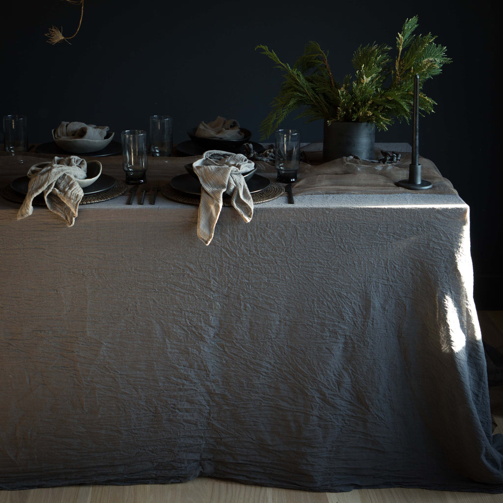 Orion {Tight Weave Extra-Wide Table Cover}