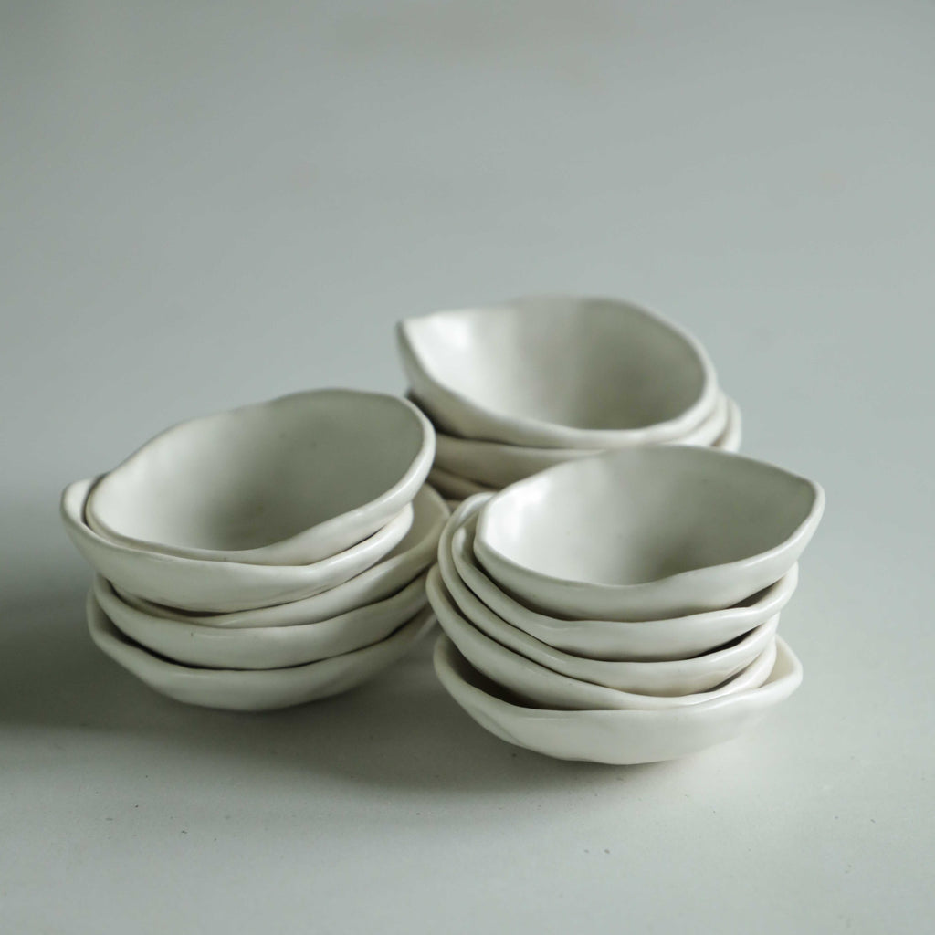 Ceramic Styling Dish {Satin White}