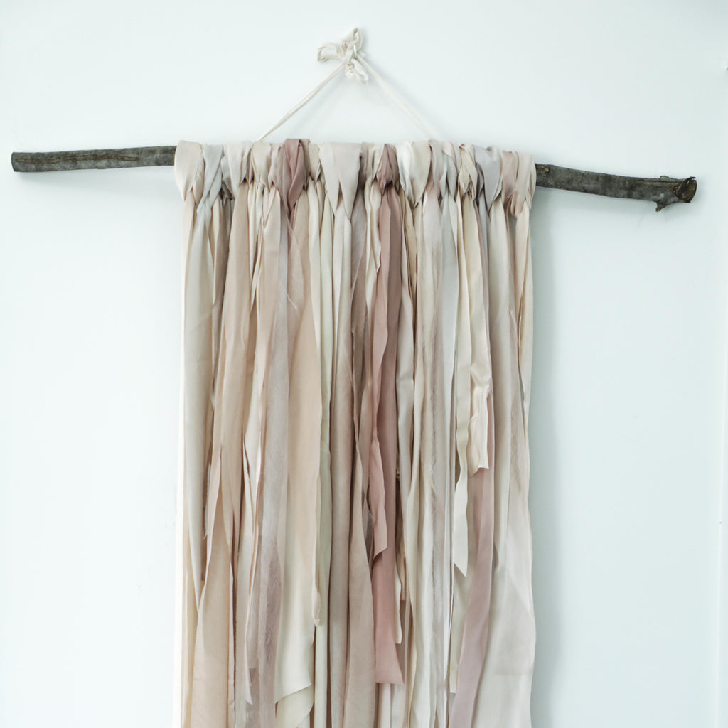 RIBBON BRANCH {Romantic Hues}
