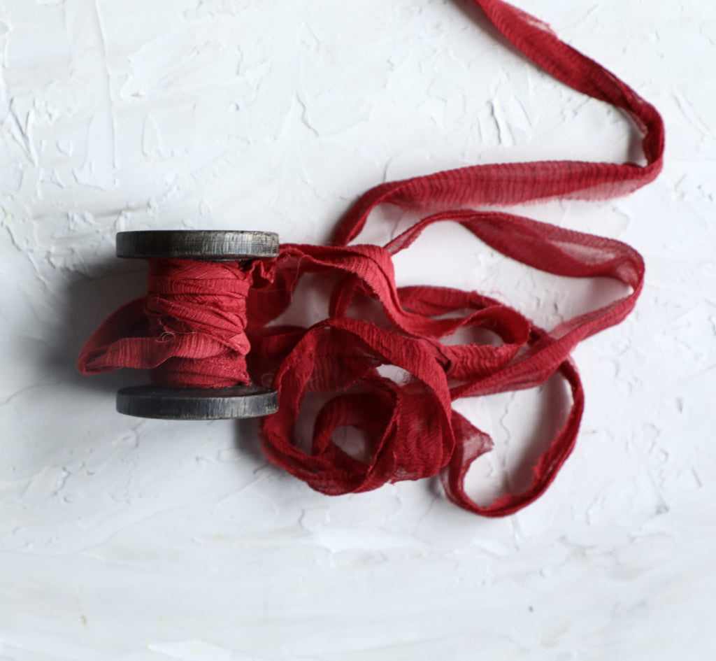 Scarlet {Recycled Ribbon}