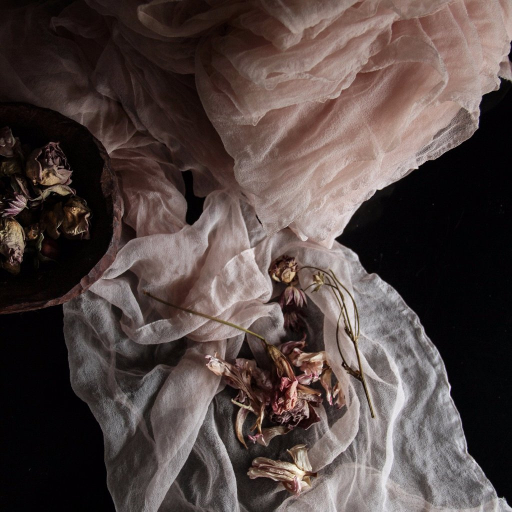 Carnation Pink {Sheer Silk Fabric}