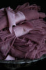 SILK SHEER FABRIC {Merlot}