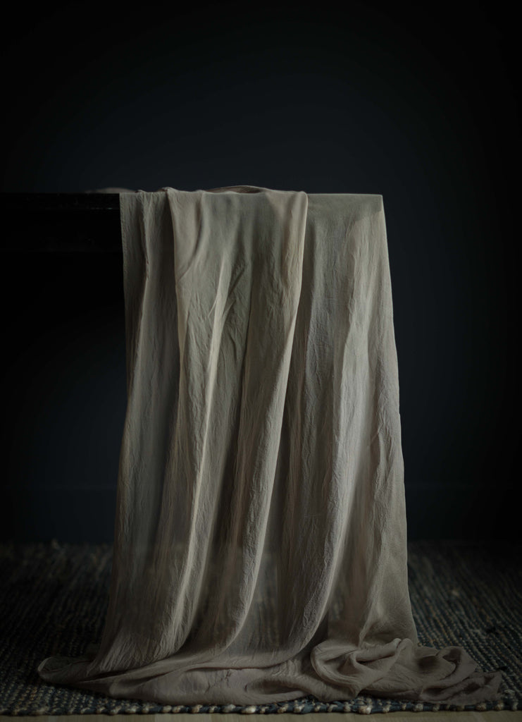 Taupe {Sheer Silk Runner}