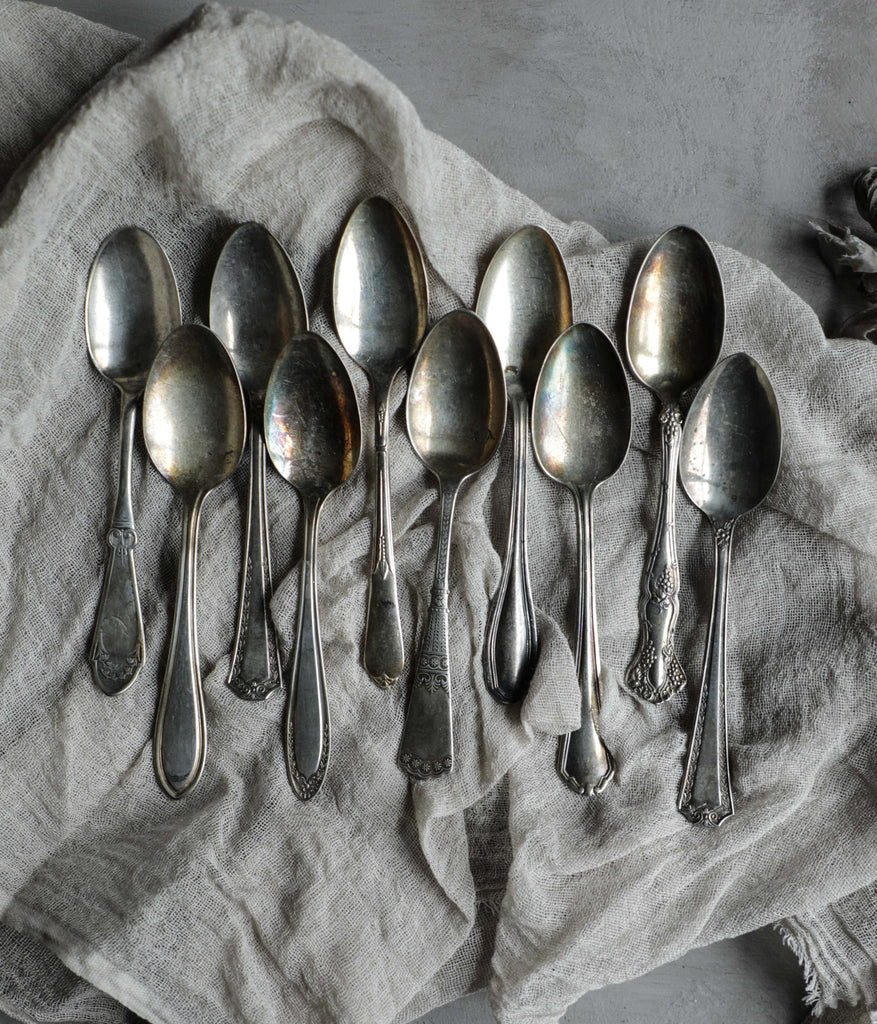 Vintage Spoons {set of 10}
