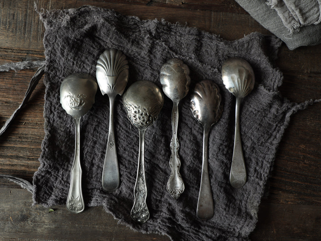 Vintage Silver Plated Spoons