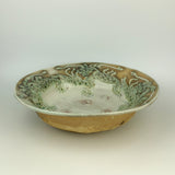 Serving Bowl - Dragon Pattern Copper Green (b35csp-2)