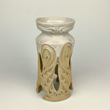 Candle Holder Large - Nouveau Pattern