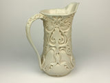 Pitcher - Nouveau Pattern Ivory (p20c-1)