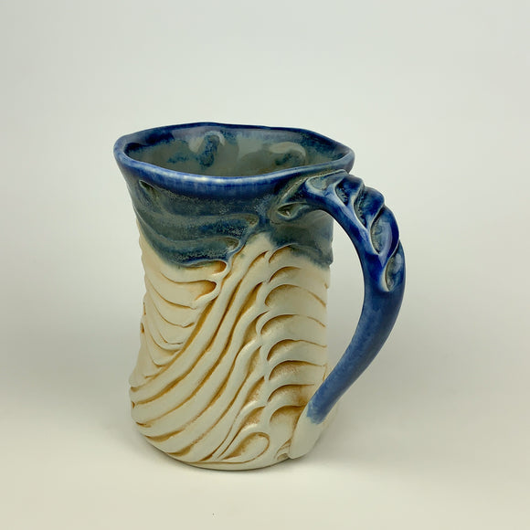 Mug - Bony Pattern Floating Blue (m10fbr-3)