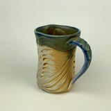 Mug - Bony Pattern Floating Blue (m10fbr-M36)