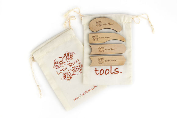 Tool Kit - Texture Tools - Set of 4 in a Bag