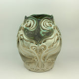 Vase Tall - Nouveau Pattern Copper Green (vtw20sp-10)