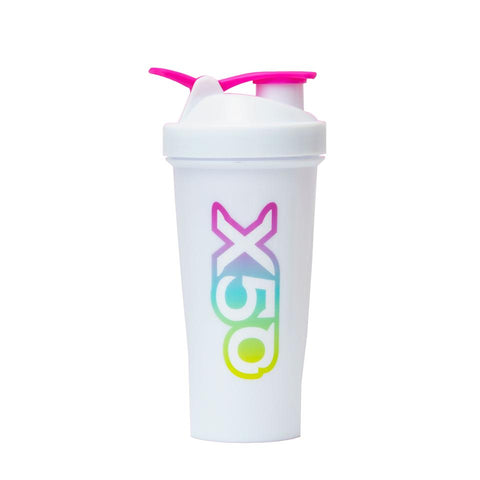 Retro Rainbow X50 600ml Shaker