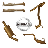 Nissan Patrol Y62 5.6L - no HEADERS - with CAT & 2 x MUFF (K2)