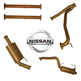 Nissan Patrol Y62 5.6L - no HEADERS - no CAT - with 2 x MUFF (K3)