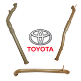 Toyota Hilux 3.0L (2005-2015)  with CAT & RES - no MUFF (K1)