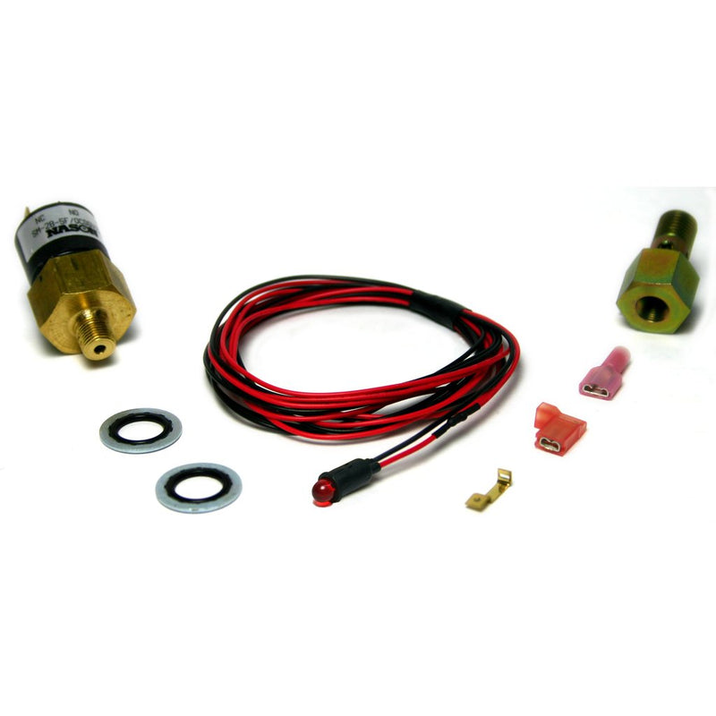 BD Diesel Performance 1081130 Red Low Fuel Pressure LED Alarm Kit 1998-2007 24 Valve