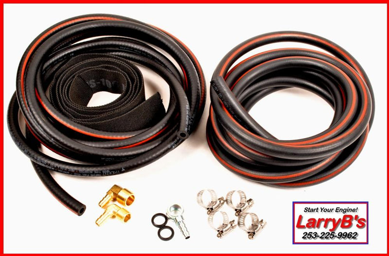 LarryB's 94-98.5, 12 Valve, Tank-To-Engine Marine Grade Fuel Line Kit Fits Dodge Cummins FH99K