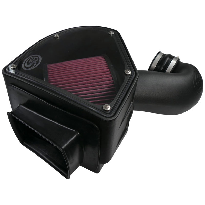 S&B 75-5090 Cold Air Intake Kit - Cotton Filter for 94-02 Dodge Cummins 5.9L
