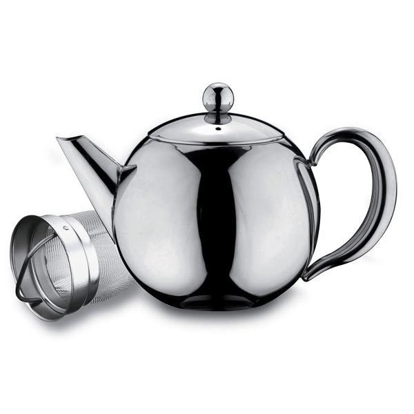 Rondeo Stainless Steel Infuser Teapot - Herbert & Ward Ltd