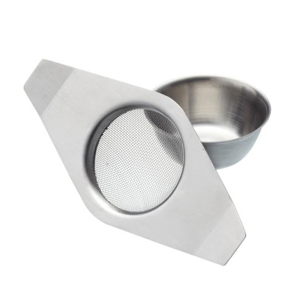 Le'Xpress Stainless Steel Double Handed Tea Strainer - Herbert & Ward Ltd