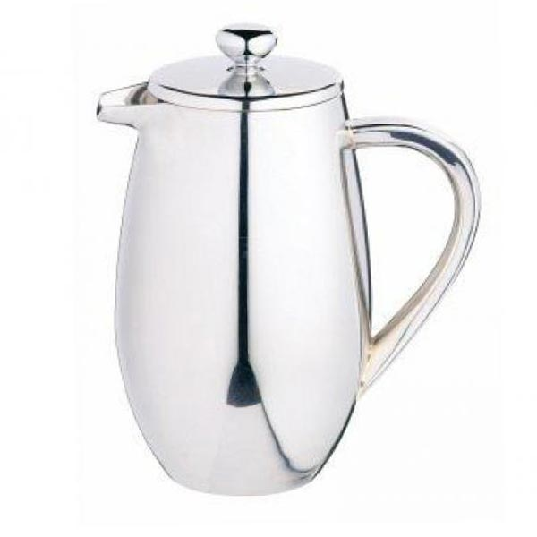 Le 'Xpress 3 Cup Double Walled Stainless Steel Cafetiere - Herbert & Ward Ltd