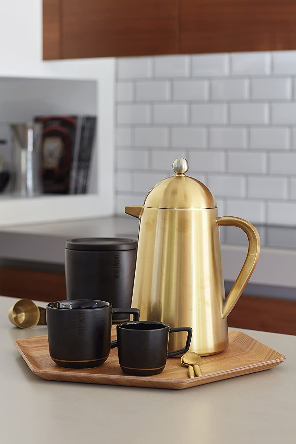 La Cafetiere Edited Thermique Double Walled 8 Cup Cafetiere - Herbert & Ward Ltd