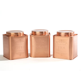 Le'Xpress® Stainless Steel Copper Finish Tins - Herbert & Ward Ltd