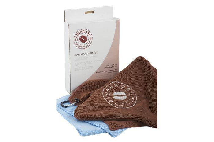 Crema Pro Microfibre Cloth & Barista Towel Set - Herbert & Ward Ltd
