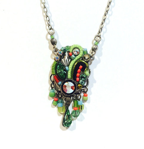 Firefly Lime Necklace