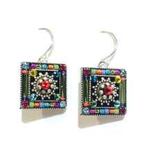 Firefly Square Earrings
