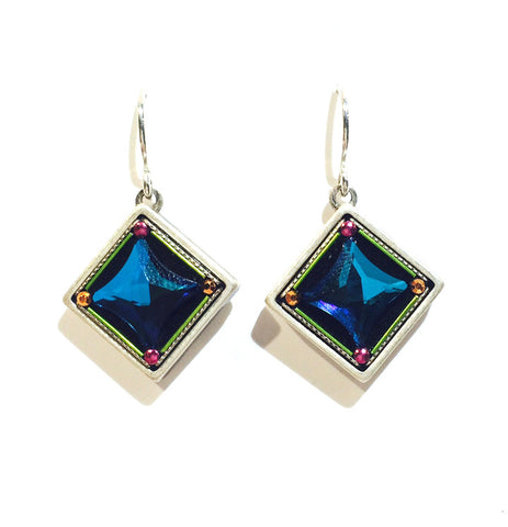 Firefly Blue Earrings