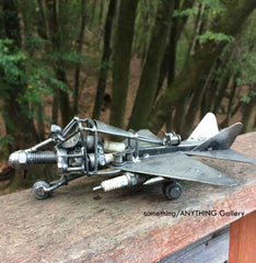 Metal Fighter Plane
