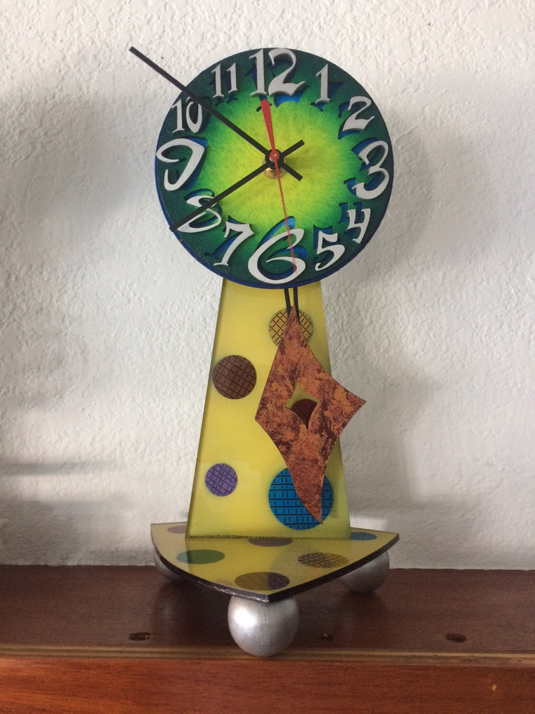 Green Mantle clock