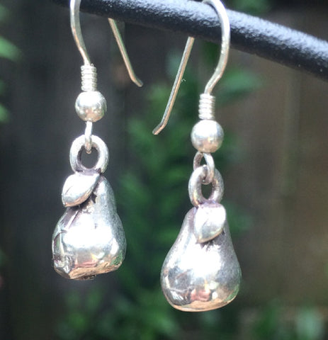 Sterling Silver Pears