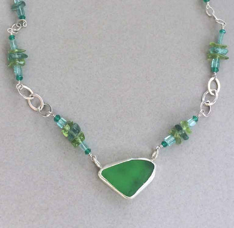 Sea Glass Necklace