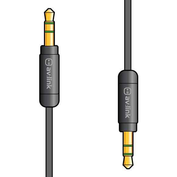 Precision 3.5mm Stereo Plug to 3.5mm Stereo Plug Leads - eav-online.com