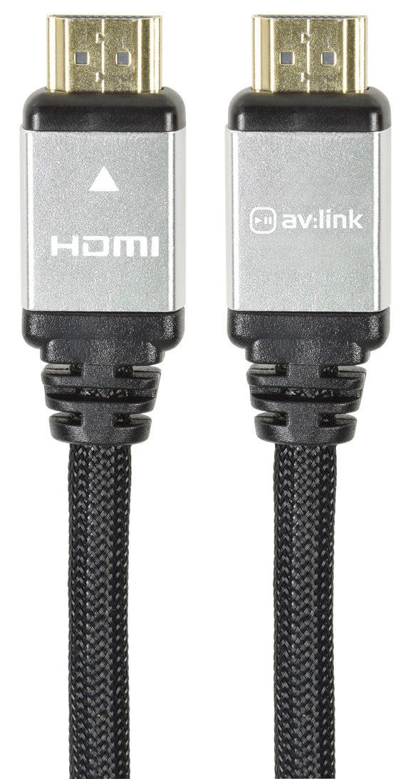 Premium Braided High Speed 4K UHD HDMI Leads with Ethernet - eav-online.com