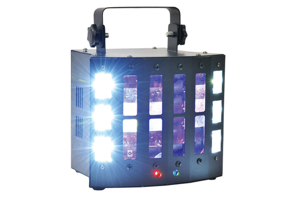 QTX SURGE 4-in-1 LED + Laser Effect - eav-online.com