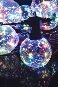 10 Outdoor LED Festoon Lights: Multicolour - eav-online.com