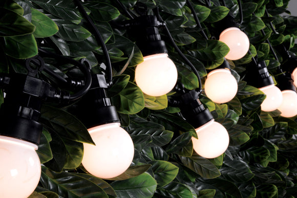10 Bauble Outdoor Festoon - Warm White - eav-online.com