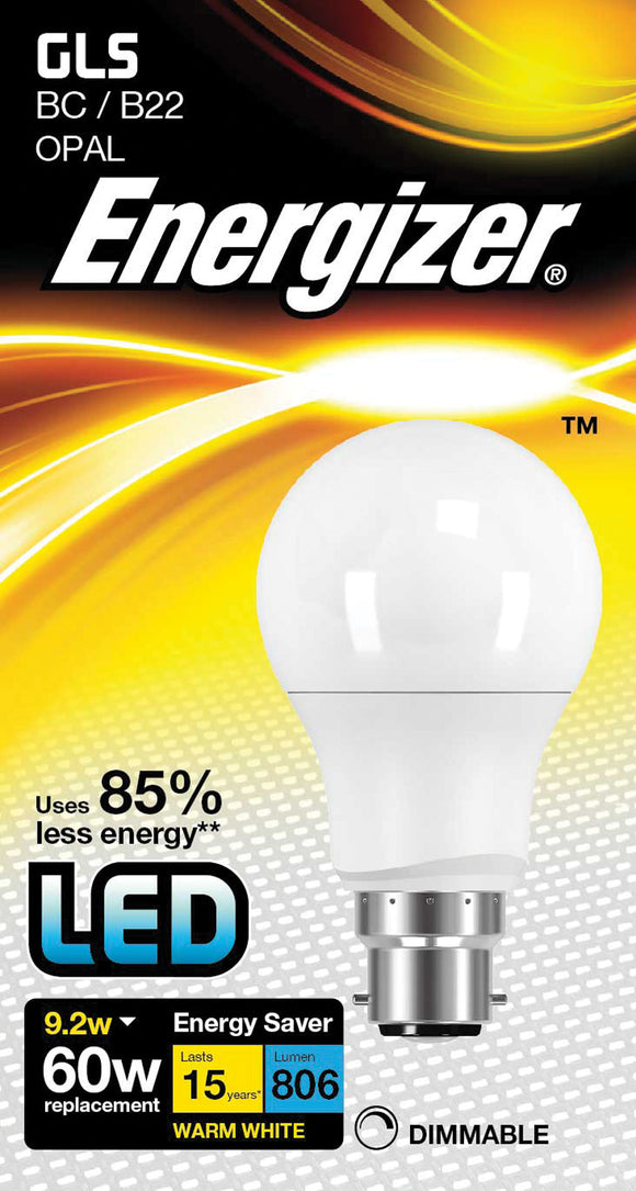 LED GLS Light Bulb 9.2W dim, WW - eav-online.com