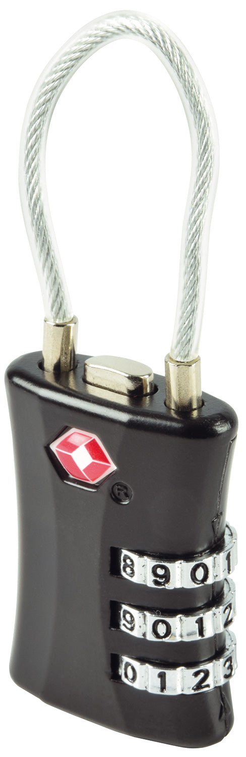 3-Digit TSA Security Padlock - eav-online.com
