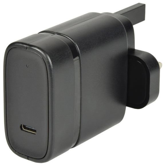 Quick-Charge 3.0 USB Type-C Mains Charger - eav-online.com