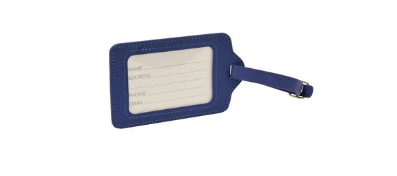 Soft PU Leather Luggage Tags - Choice of Colours - eav-online.com