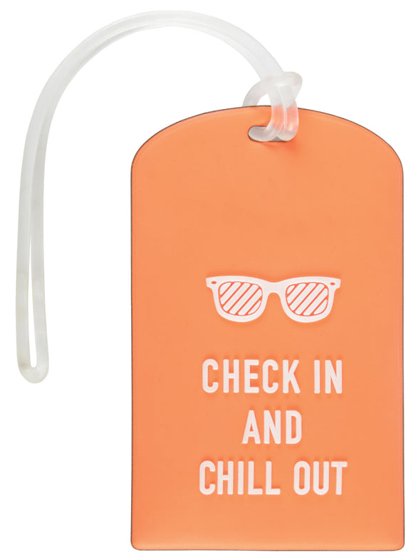 PVC Luggage Tag - Orange - eav-online.com