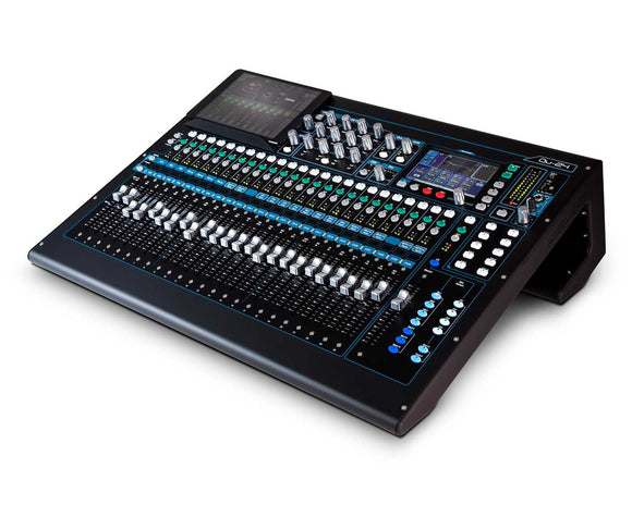 Allen & Heath QU24 30-In and 24-Out Dig Mix with Motorised Faders CHROME - eav-online.com